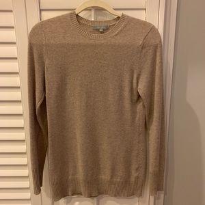Tan 100% Cashmere Sweater - S